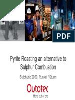 10 Runkel - Sulphuric 2009_Pyrite Roasting_Runkel Sturm_OUTOTEC JH_1
