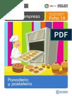 Ficha 16 Panadería y Pastelería - CRECEmype