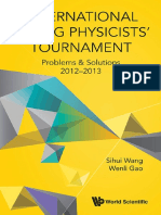 International Young Physicists' Tournament Problems & Solutions 2012-2013