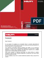 Hilti Anchor Fastening Technology Manual 2011