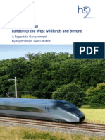 Chapter 1 High Speed Rail London to the West Midlands and Beyond A Report to Government