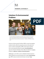 _ Solutions to Environmental Problems_ Institute of Environmental Sustainability_ Loyola University Chicago