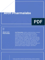 Arch Pharmalabs Directors Information
