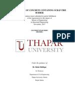 Properties of Concrete Containing Scrap11