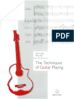 The Techniques of Guitar Playing