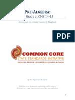 8th Grade Math Textbook CMS