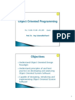 Lecture 1 Handout Introduction Object Oriented Programming1