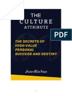 The culture attributethe secrets of High-value Personal success and destiny.docx