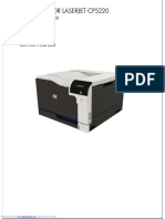 Color Laserjet Professional Cp5220