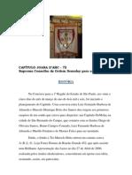 História do Capítulo Joana D'arc