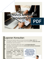 Pelatihan Penyusunan Laporan Untuk Konsultan.pdf
