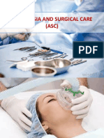 Anesthesia & Surgical Care