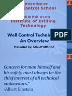 Well Control Techniques Final Chennai