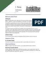 War at Sea Clarifications Aug 10