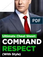 Cheat Sheet Command Respect With Style