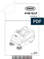Tennant 6100 G:LP Service Manual