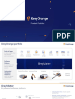 GreyOrange Product - Supply Chain automation company