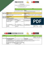 Programa del  I Congreso Peruano de Educación Ambiental