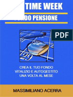 eBook One Time Week Fondopensione