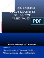 Estatuto Docente Municipal