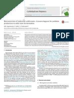 Bioconversion of Industrial Solid Waste—Cassava Bagasse for Pullulan