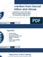 Sexual Exploitation and Abuse Training Manual