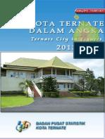 Kota Ternate Dalam Angka 2013