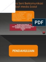 Rusaknya Seni Berkomunikasi Akibat Media Sosial.pptx