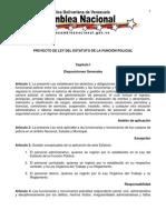 Estatuto de La Funsion Policial