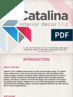 Catalina Work