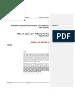 Low Latency DOCSIS Draft