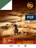 Reglamento Dakar 2019 Motos