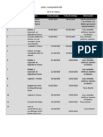 Agenda Del Portafolio Logica y Argumntacion