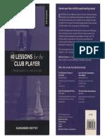 [Aleksander_Kostyev]_40_Lessons_for_the_Club_Playe(b-ok.cc).pdf