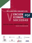 Pacto de Estado, competitividad y empleo