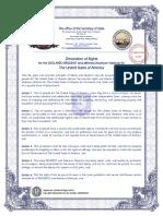 Affidavit of Walker Todd 1-20-04