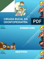 Cirugía Bucal en Odontopediatría
