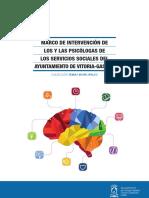 Marcos de Intervención de Los Psicólogos de Los SS.ss. Ayto. Vitoria 2017