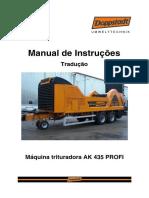 Manual AK 435