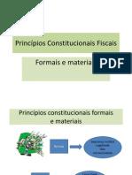 Princípios Constitucionais Fiscais