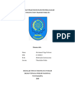 Laporan Praktikum Elektronika Dasar (Ujt)