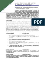 Contrato de Locación de Servicios Para Servicios Específicos
