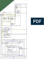 Estructura de Esquema realizado en Vhdl megamodulo RC, CLH, CSA