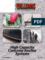 High Capacity Concrete Anchor Systems