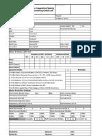 1 Motor Commissionig Sheet