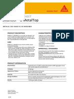 Sikafloor-1 MetalTop PDS
