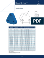 Triangle Plates, High Tensile Plates_mm