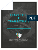 Mapa de Assassinatos de Travestis e Transexuais