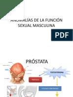 Anomalias de La Función Sexual Masculina