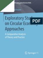 Exploratory Studies on the Circular Economy
